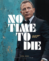 JAMES BOND 007  NO TIME TO DIE (2020)